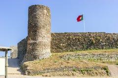 Castello in Aljezur, Algarve, Portogallo fotografia stock