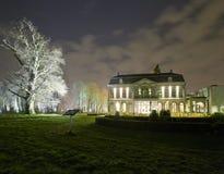 Castello alla notte Fotografia Stock Libera da Diritti
