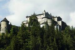 Castello alpino Fotografie Stock Libere da Diritti