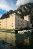 Castello antico di Rocca della La in Riva del Garda, Italia Immagini Stock Libere da Diritti