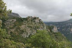 Castello antico in Gourdone Fotografie Stock Libere da Diritti