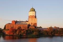 Castello antico in Vyborg Immagine Stock Libera da Diritti