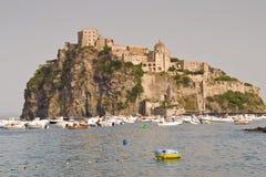 Castello Aragonese, κόλπος της Νάπολης Στοκ φωτογραφία με δικαίωμα ελεύθερης χρήσης