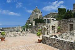 Castello Aragonese, Ischia, Italien Lizenzfreies Stockbild