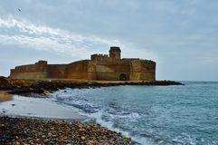 Castello Aragonese. There is the Castle Aragonese in Calabria (Italy Stock Photos