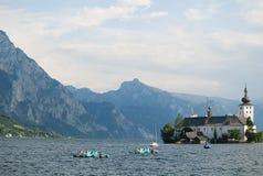 Castello in Austria Fotografie Stock Libere da Diritti