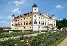 Castello barrocco Milotice, repubblica Ceca, Fotografia Stock