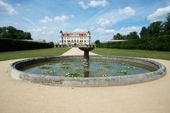 Castello barrocco Milotice, repubblica Ceca, Fotografia Stock Libera da Diritti