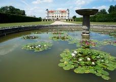 Castello barrocco Milotice, repubblica Ceca, Immagini Stock