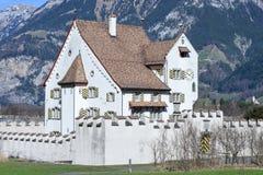 Castello barrocco un pro a Seedorf nel cantone Uri, Svizzera Fotografie Stock