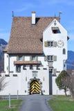Castello barrocco un pro a Seedorf nel cantone Uri, Svizzera Immagine Stock Libera da Diritti