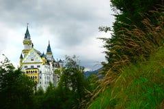 Castello bavarese del Neuschwanstein Fotografie Stock