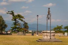 Castello bene a Udine Fotografia Stock