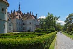 Castello Beregvar Shenborn Immagine Stock Libera da Diritti