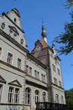 Castello Beregvar Shenborn Fotografie Stock