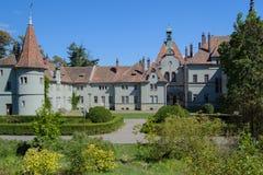 Castello Beregvar Shenborn Fotografia Stock