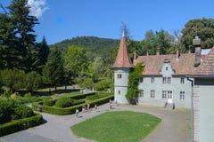 Castello Beregvar Shenborn Fotografia Stock Libera da Diritti