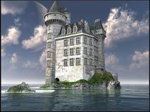 Castello bianco Immagine Stock
