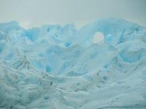 Castello blu del ghiaccio Fotografia Stock