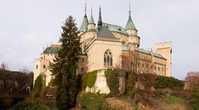 Castello Bojnice, Slovacchia Immagini Stock Libere da Diritti