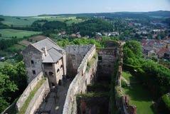 Castello Bolkow, Polonia Immagine Stock