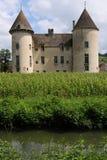 Castello in Borgogna Fotografia Stock Libera da Diritti