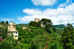 Castello Brown near Portofino village Stock Photography