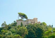 Castello Brown, Portofino, Liguria, Włochy (xvi wiek) Obrazy Royalty Free