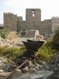 Castello in Byblos, Libano Fotografie Stock Libere da Diritti