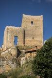 Castello in Calatanazor, Soria, Spagna Fotografia Stock