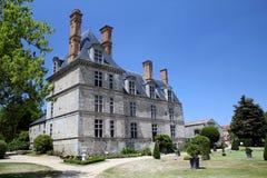 Castello in campagna francese Fotografia Stock Libera da Diritti