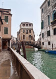 Castello canal view in Venice Stock Image