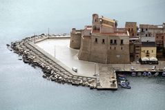 Castello-Castellammare photo stock