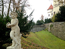Castello ceco fotografia stock