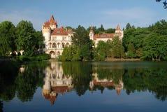 Castello ceco Zinkovy Immagine Stock Libera da Diritti
