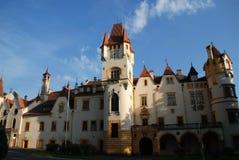 Castello ceco Zinkovy Fotografia Stock Libera da Diritti