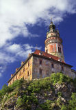 Castello Cesky Krumlov Fotografia Stock