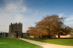 Castello Chesterfield di Bolsover Immagine Stock Libera da Diritti
