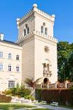 Castello Chyse, Boemia, repubblica Ceca, Europa Fotografia Stock Libera da Diritti