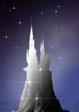 Castello in cielo Fotografia Stock Libera da Diritti