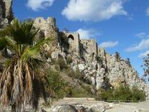 Castello - Cipro del Nord Fotografie Stock Libere da Diritti
