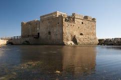 Castello Cipro di Mediieval Fotografie Stock
