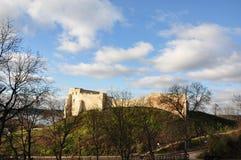 Castello in città Kazimerz Dolny Polonia fotografia stock libera da diritti