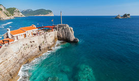 Castello, coastal Venetian fortress.Montenegro Stock Photo