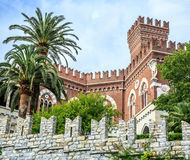 Castello d'Albertis castle in Genoa Stock Images