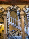 The Castello d`Albertis is a historical residence in Genoa Italy. It currently houses the Museum of World Cultures, Stock Images
