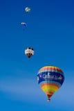 Castello D'Oex 2014 festival/della mongolfiera fotografia stock