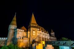 Castello dalla ROMANIA Fotografia Stock