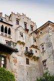 Castello de Buonconsiglio, Trento, Italien royaltyfri foto