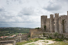 Castello de Obidos Fotografia Stock Libera da Diritti